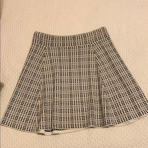 Theory plaid skirt